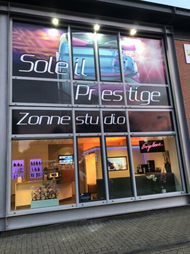 Zonnestudio Soleil Prestige buiten